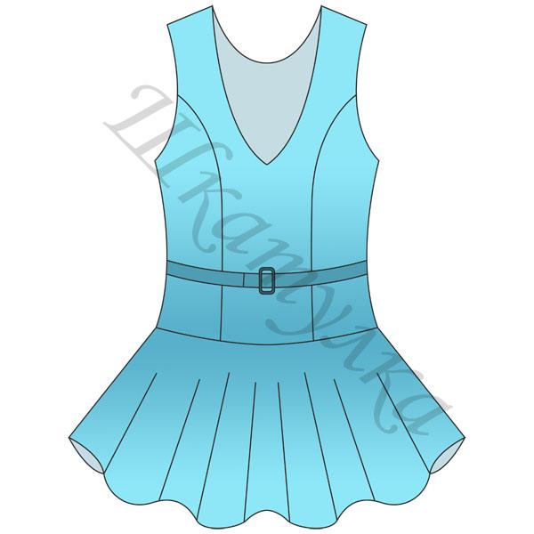 Выкройка юбки для девочки распечатать