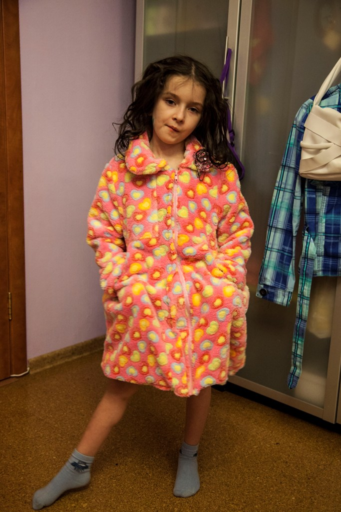 Уроки вязания детского платья спицами