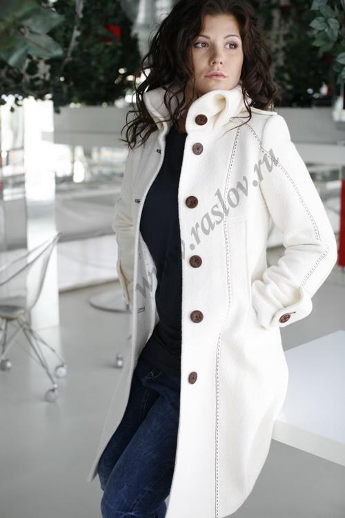 Моделирование полочки женского пальто