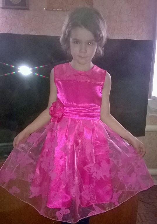 Платье » Лиловое чудо «