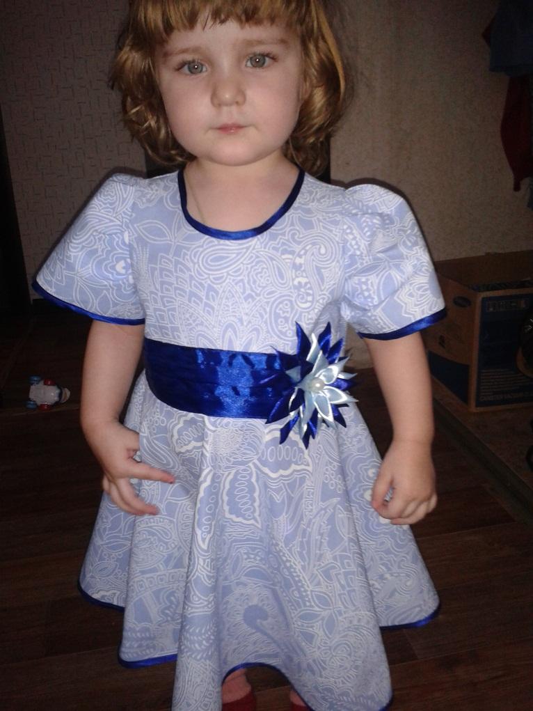 Платье для дочки на день рождения