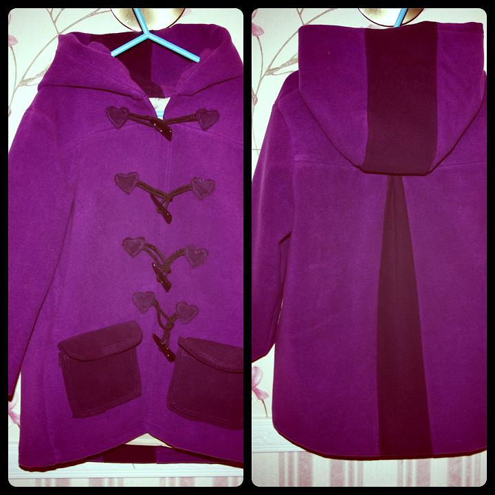 Как сшить пальто для девочки мастер класс