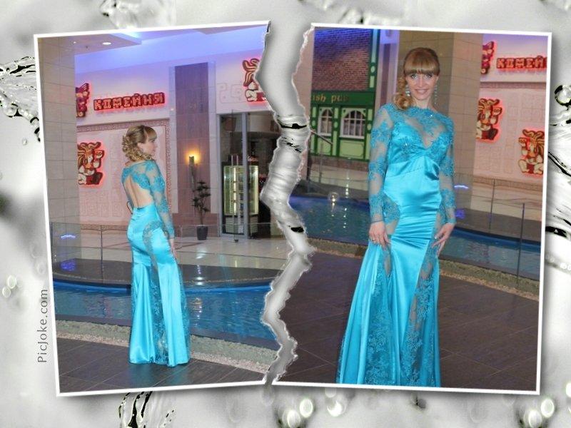Вечернее платье от «Catrin»