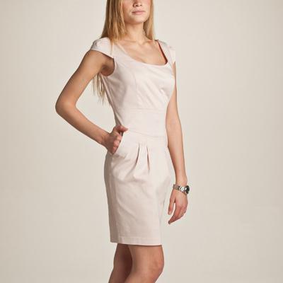 Разбираем крой женского платья