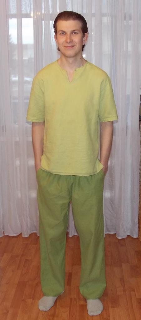 Льняной костюм Любимому