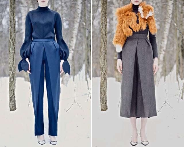 Моделирование брюк со складкой
