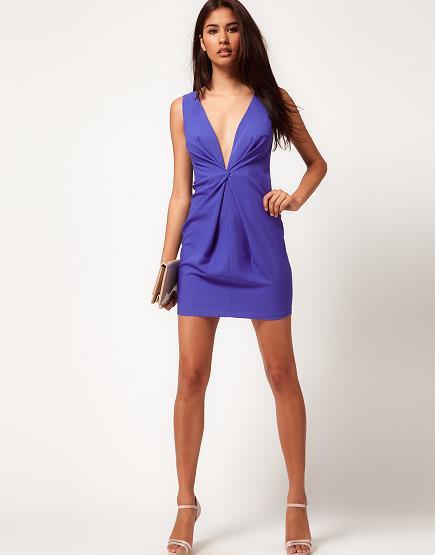 Моделирование платья с драпировкой на полочке