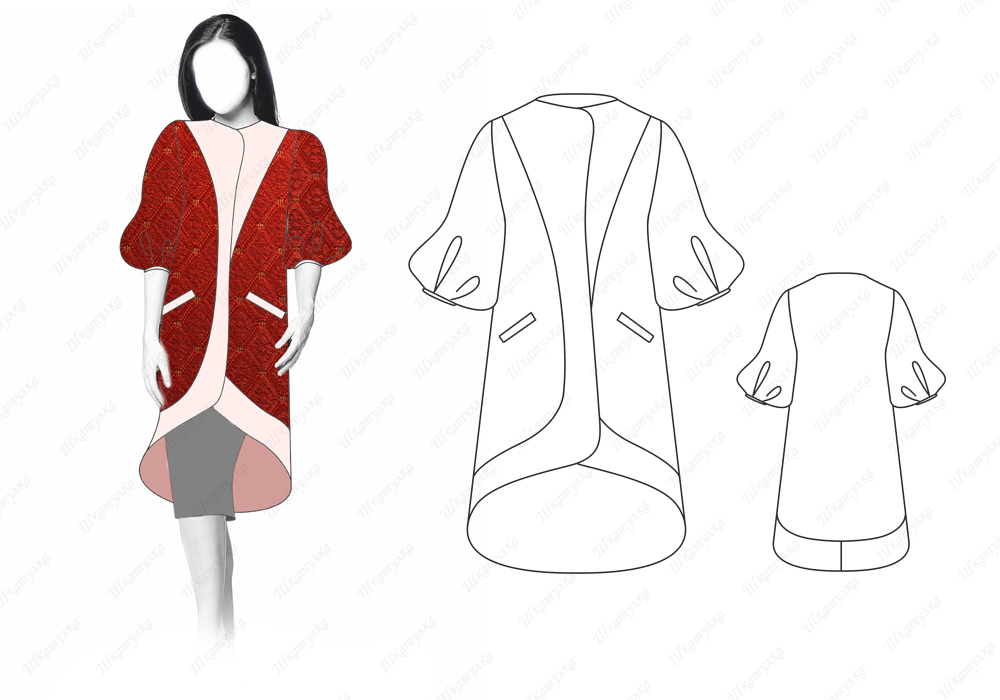 Пальто С11 — готовая выкройка