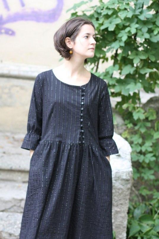 Моделирование платья уплощенной формы