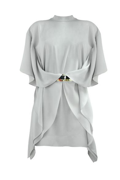 Моделирование платья, декорированного воланами