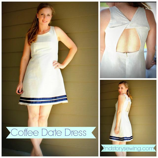 Платье с эффектом «перекрутки» на спинке