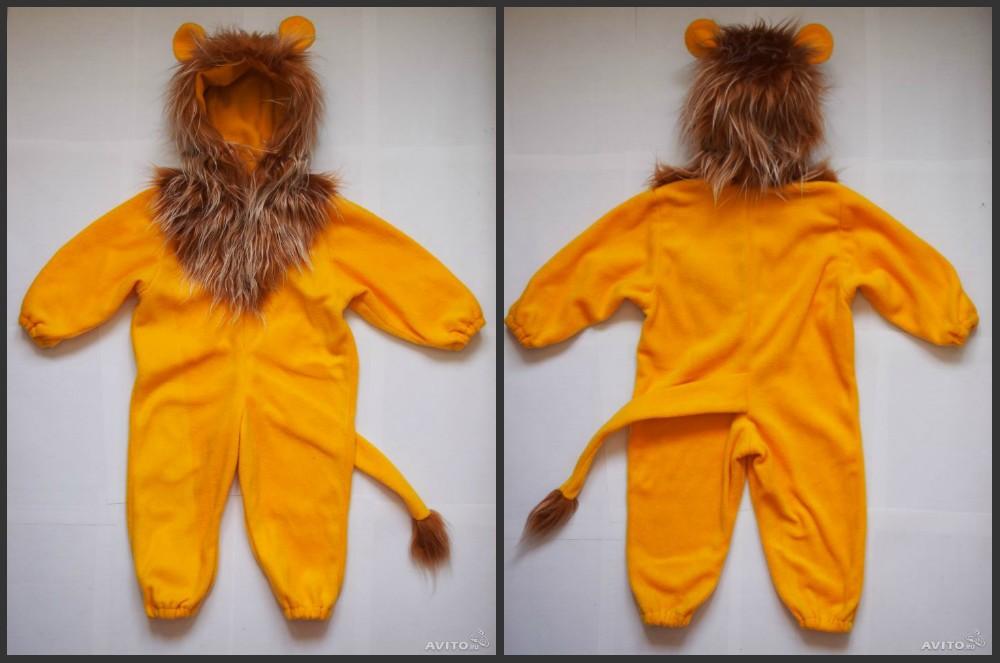 Детский костюм львенка 42