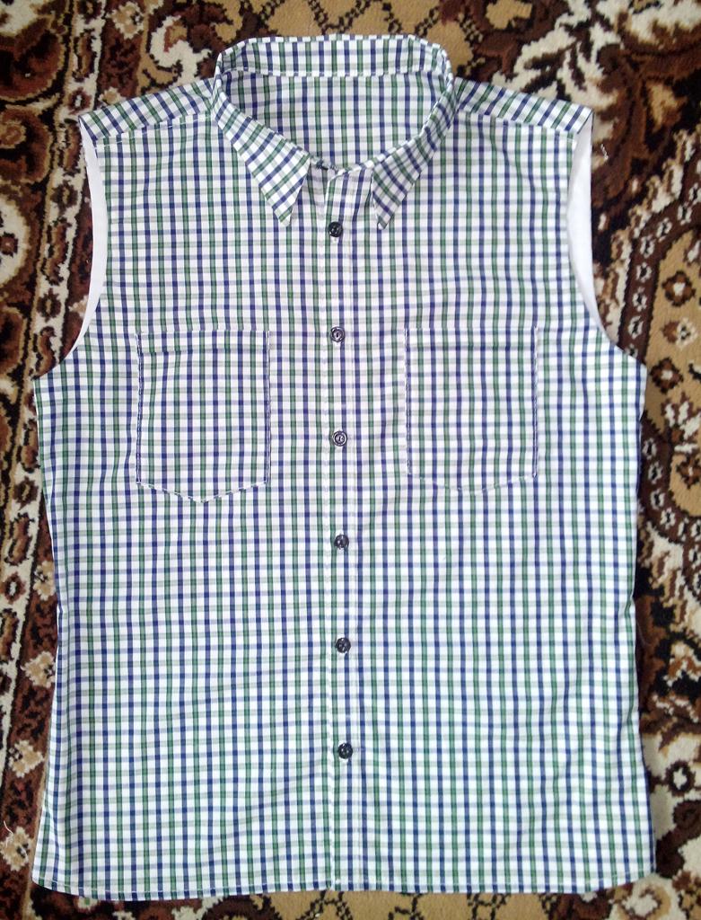 Рубашка безрукавка
