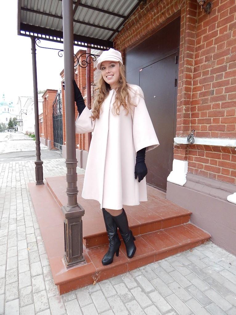 Пальто «Розовая мечта»!