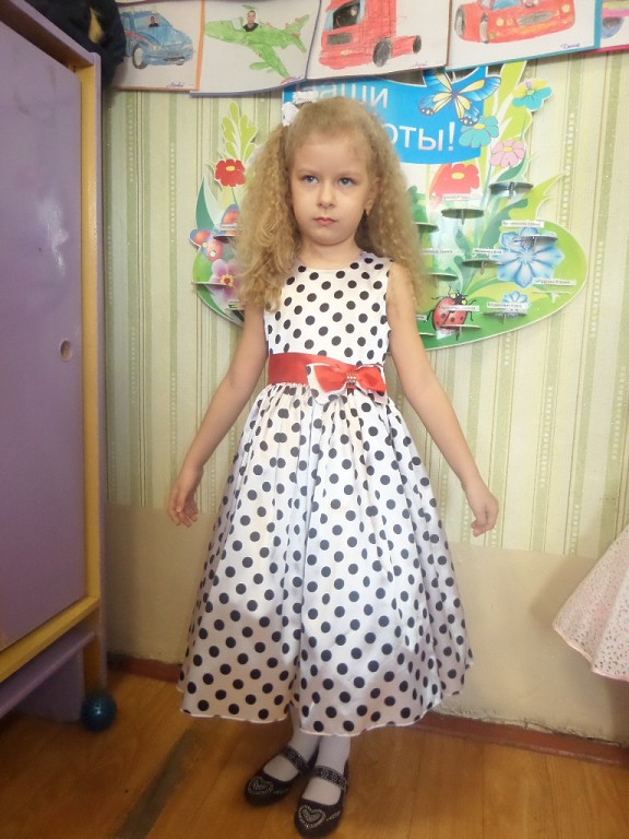 Платье для фотоальбома