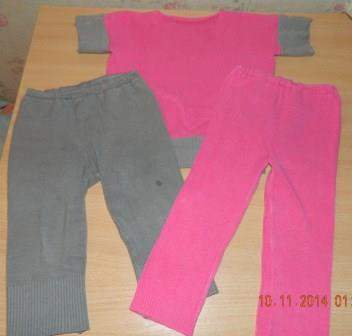 переделка из двух свитеров