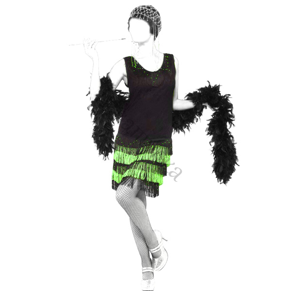 Выкройка платья в стиле 20-х годов