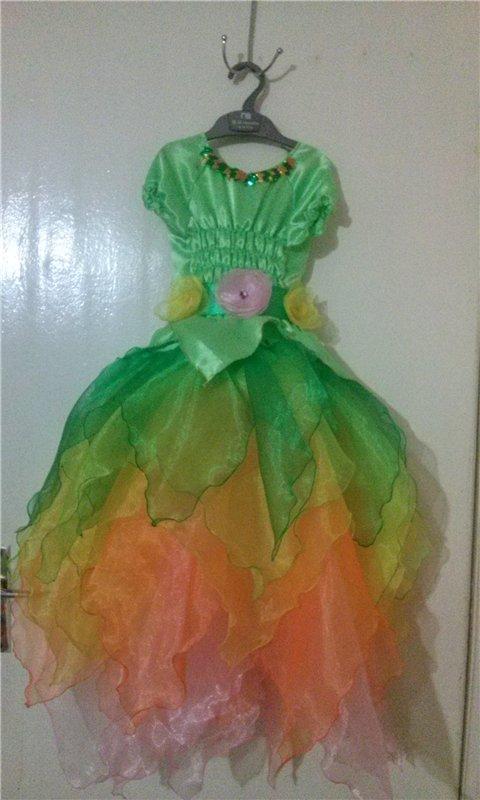 Платье лесной феи
