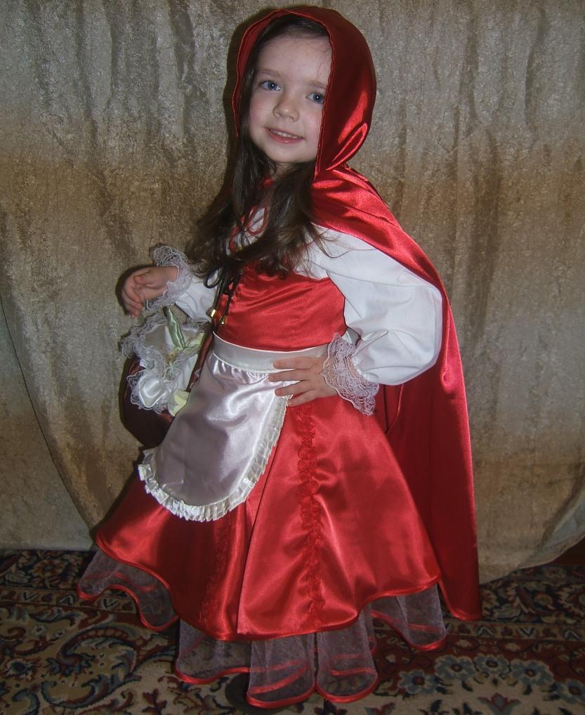 костюм: красная шапочка