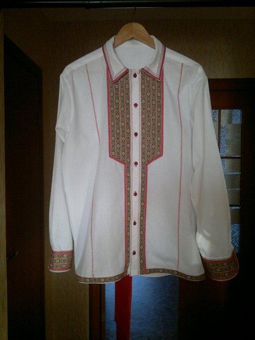 Сорочка стилизованная русская народная