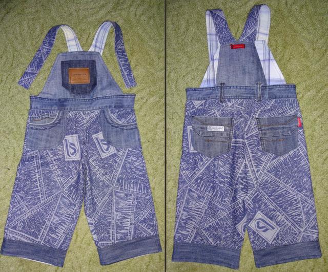 Сшить комбинезон для ребенка из старых джинсов своими руками 99