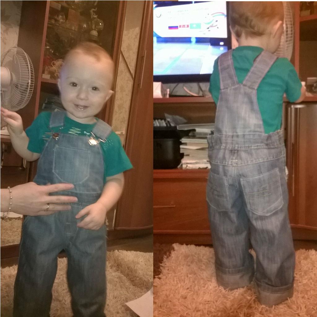 Детский комбинезон джинсовый сшить своими руками 33