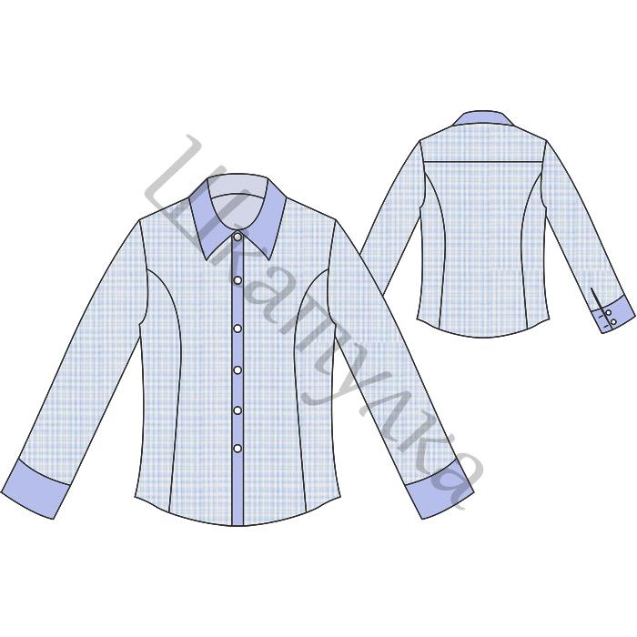 Выкройка приталенной рубашки для мальчика