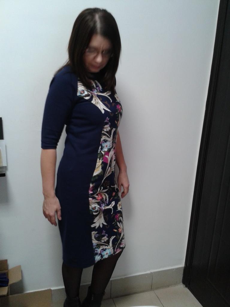 Рельефное платье модель 4199