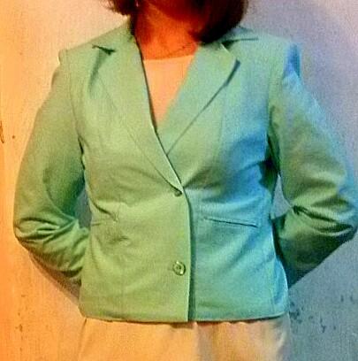 Пиджак летний льняной