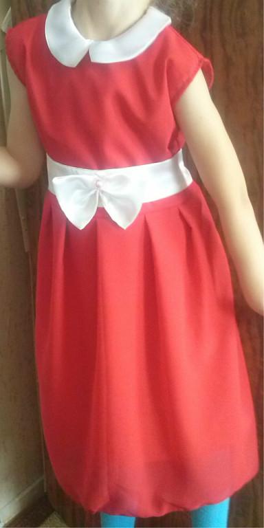 Праздничное платье из шифона