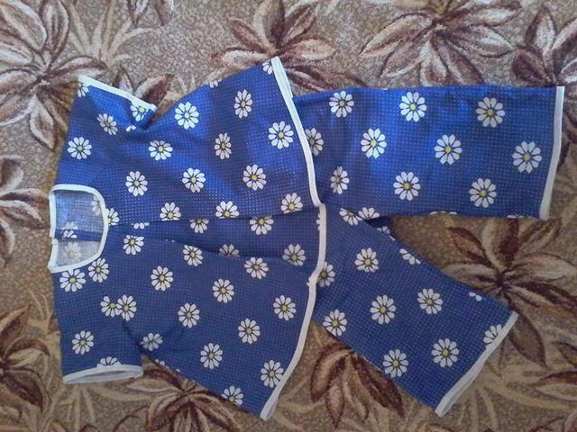 туника со встречной складкой и штанишки