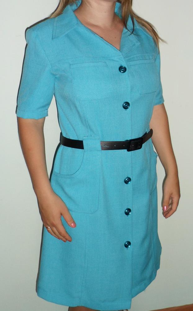 Пошив платье сафари