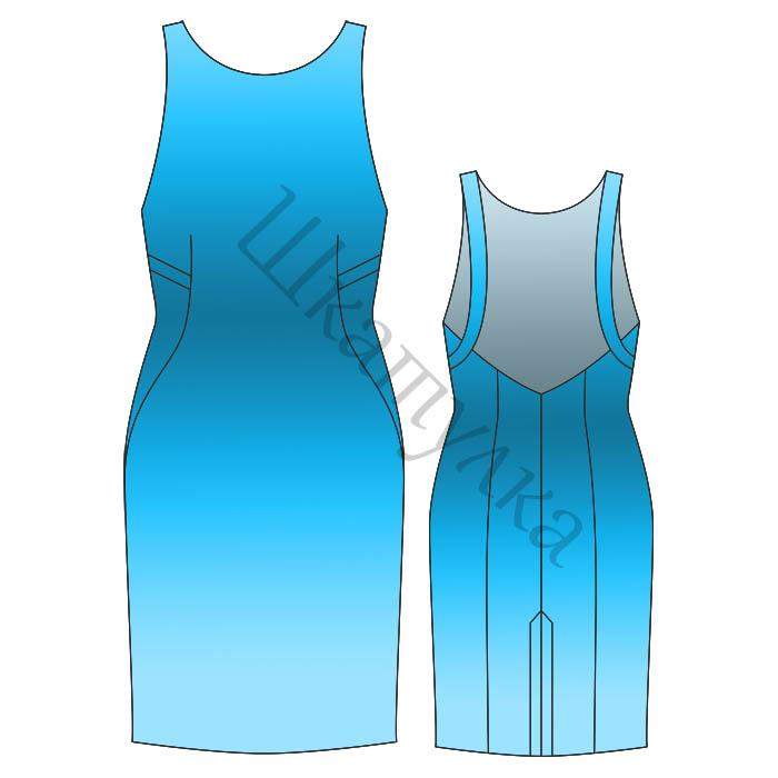 Выкройку такого неверояно обольстительного платья с открытой спиной для сайта. подготовила Виктория Иванова