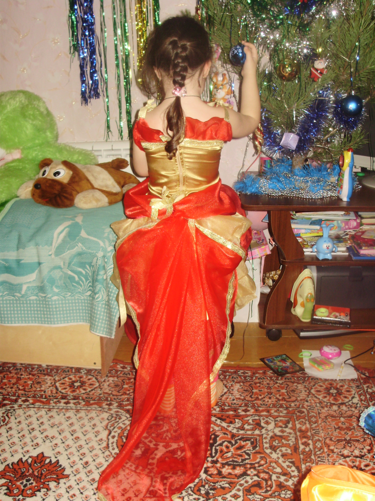 Платье «Жар птица»