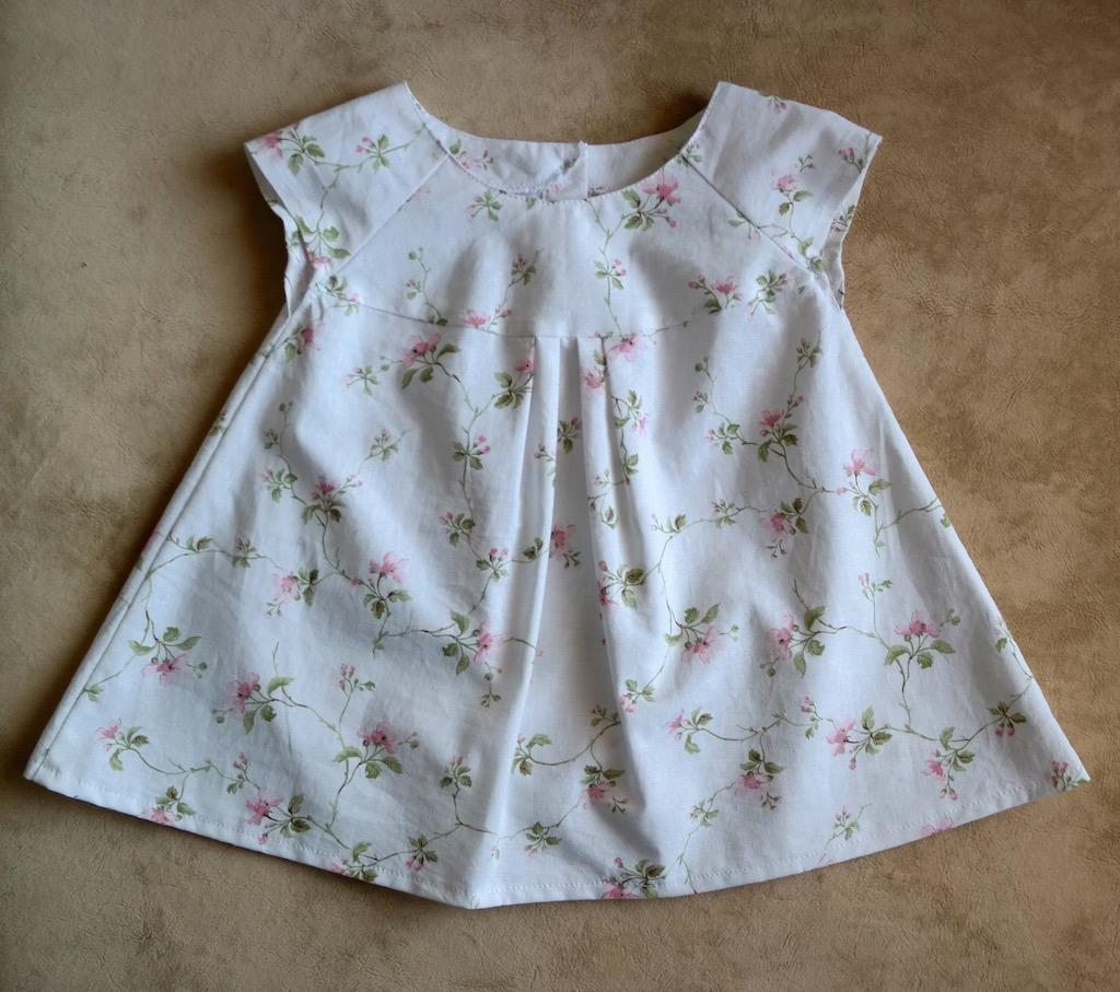 Платье с рукавом-реглан для девочки
