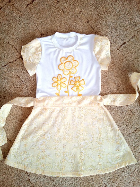 платье для внучки