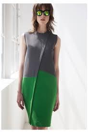 Моделирование платья прямого силуэта с диагональной односторонней складкой