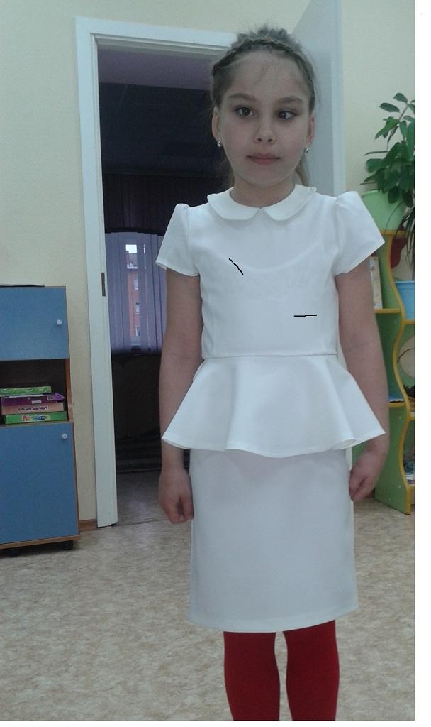 Белое платье!!!