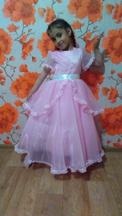 платье на выпускной детского садика