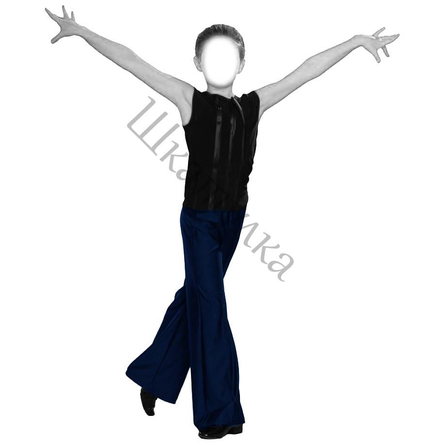 Выкройка танцевальных брюк для мальчика