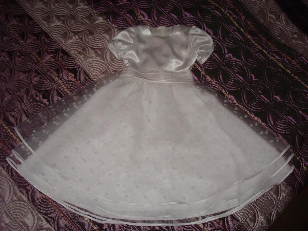 Платье снежинки