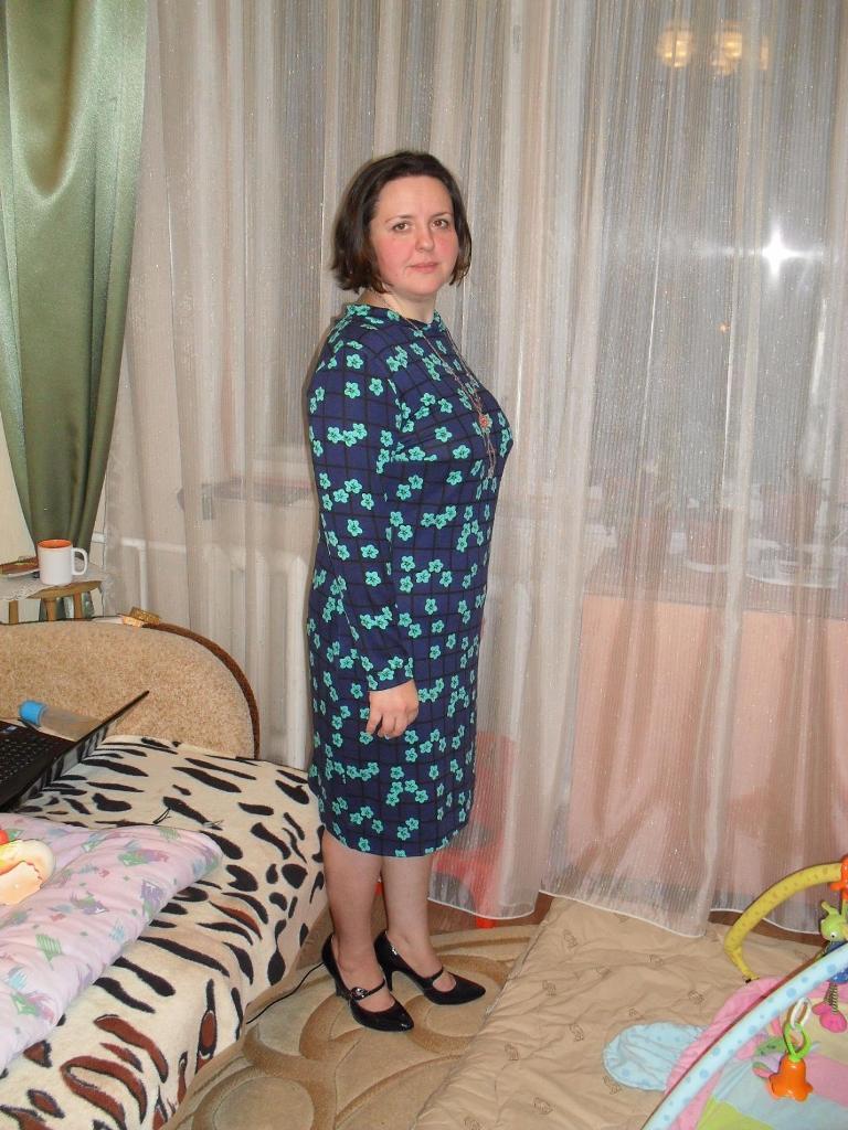 Платье из легкого джерси