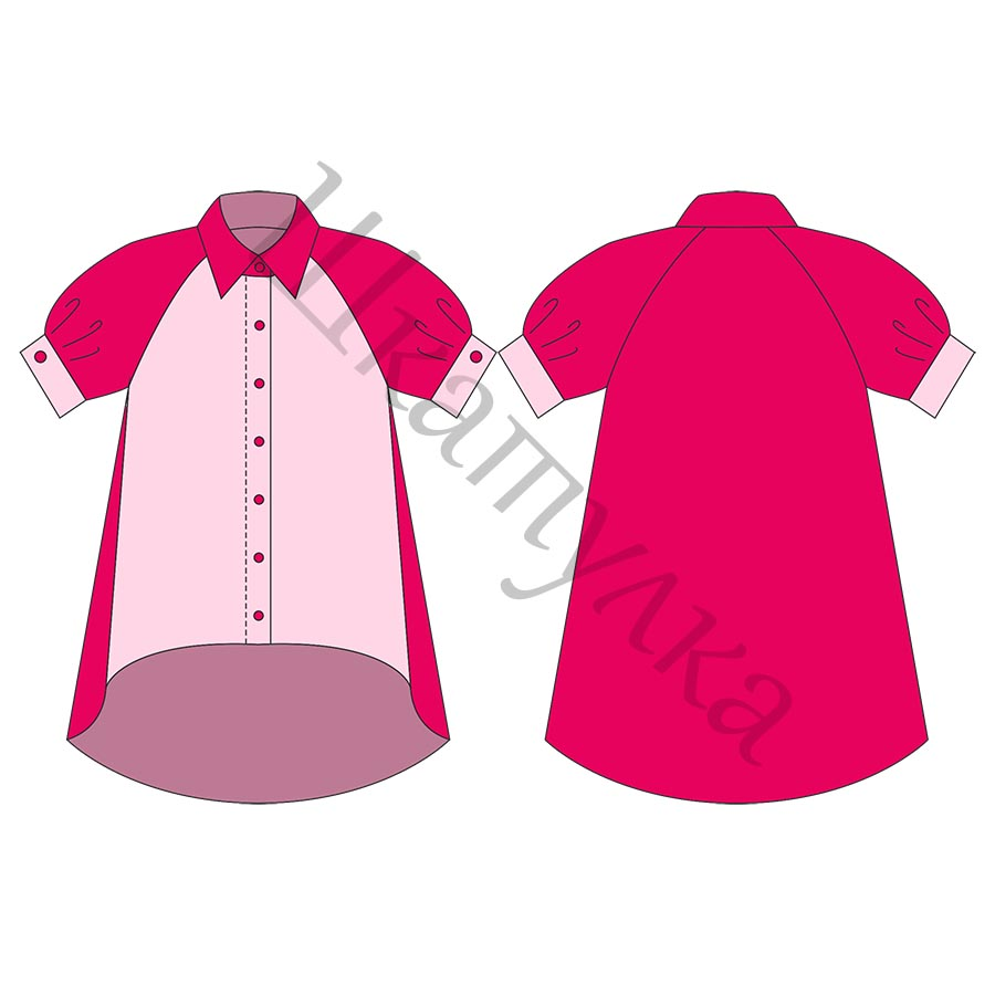 Готовые выкройки блузок 50 размер фото 308