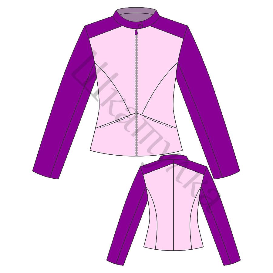 Выкройка летней женской куртки, жакета