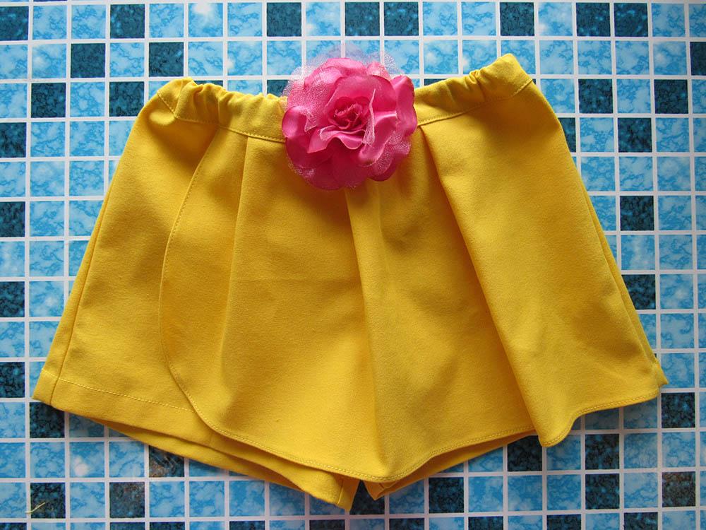 Шорты юбка мастер класс