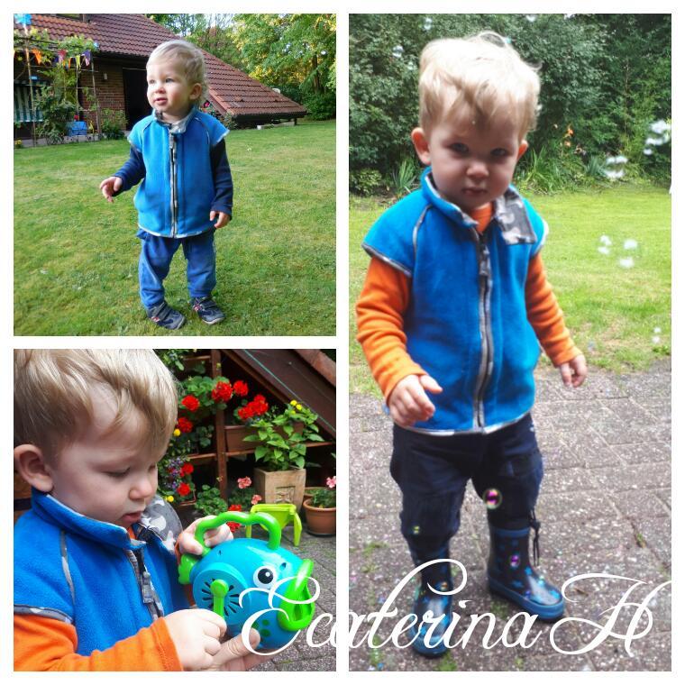 детский жилет с коротким рукавом реглан