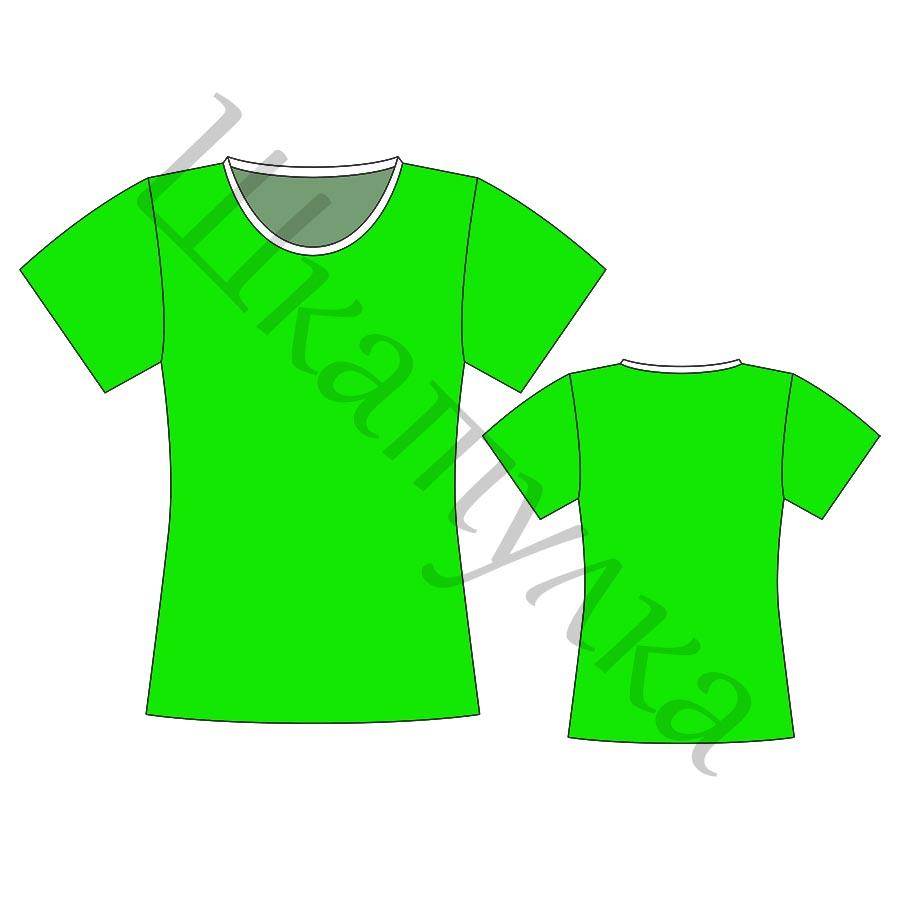 Выкройка детской футболки KT041017