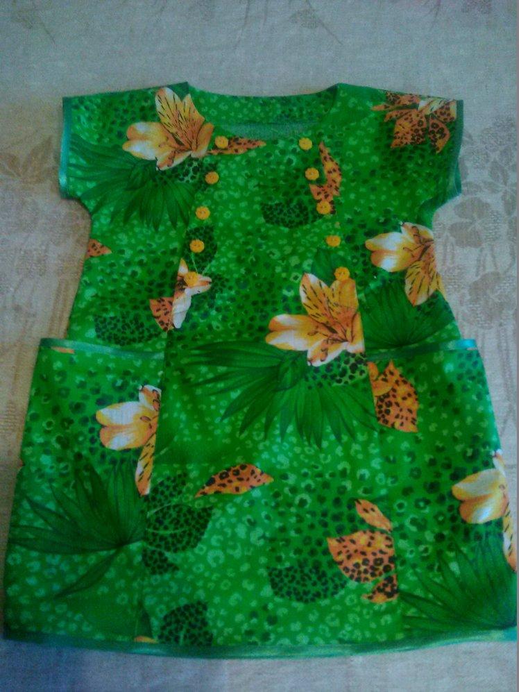 Платье из ситца 92р.