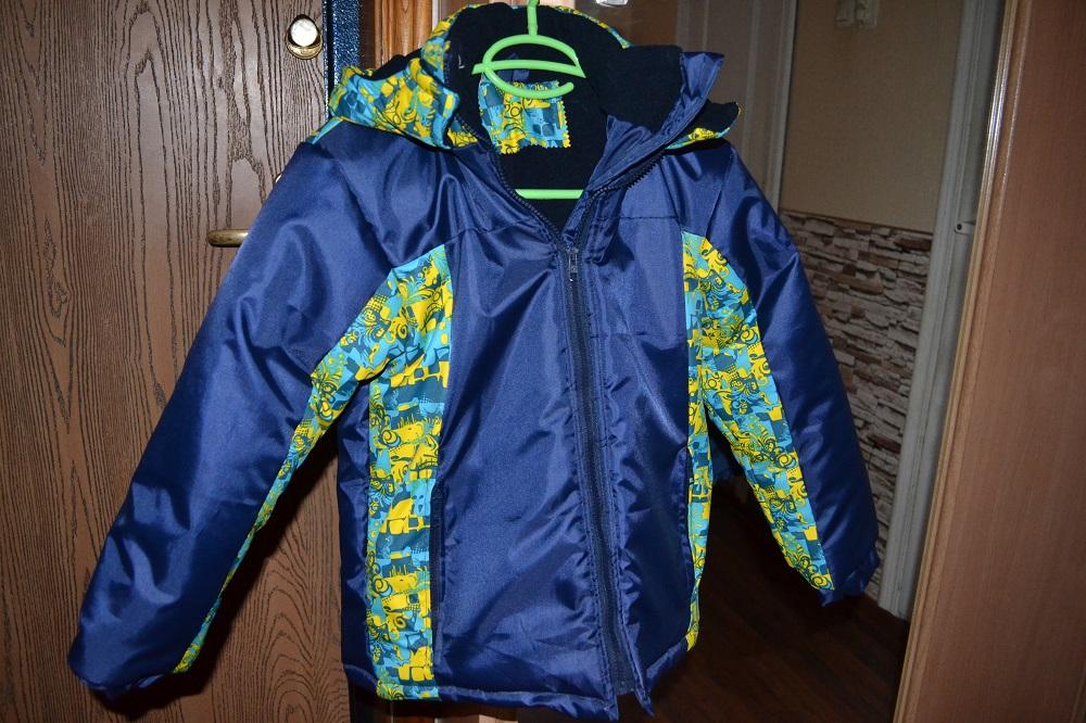 Тёплая куртка для мальчика
