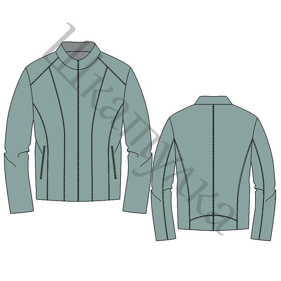 Выкройка куртки для мальчика KP250918